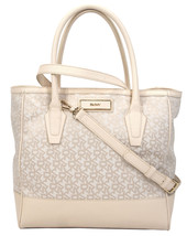 DKNY Town Country Jacquard Ivory Saffiano Large Shopper Tote NWT - $118.31
