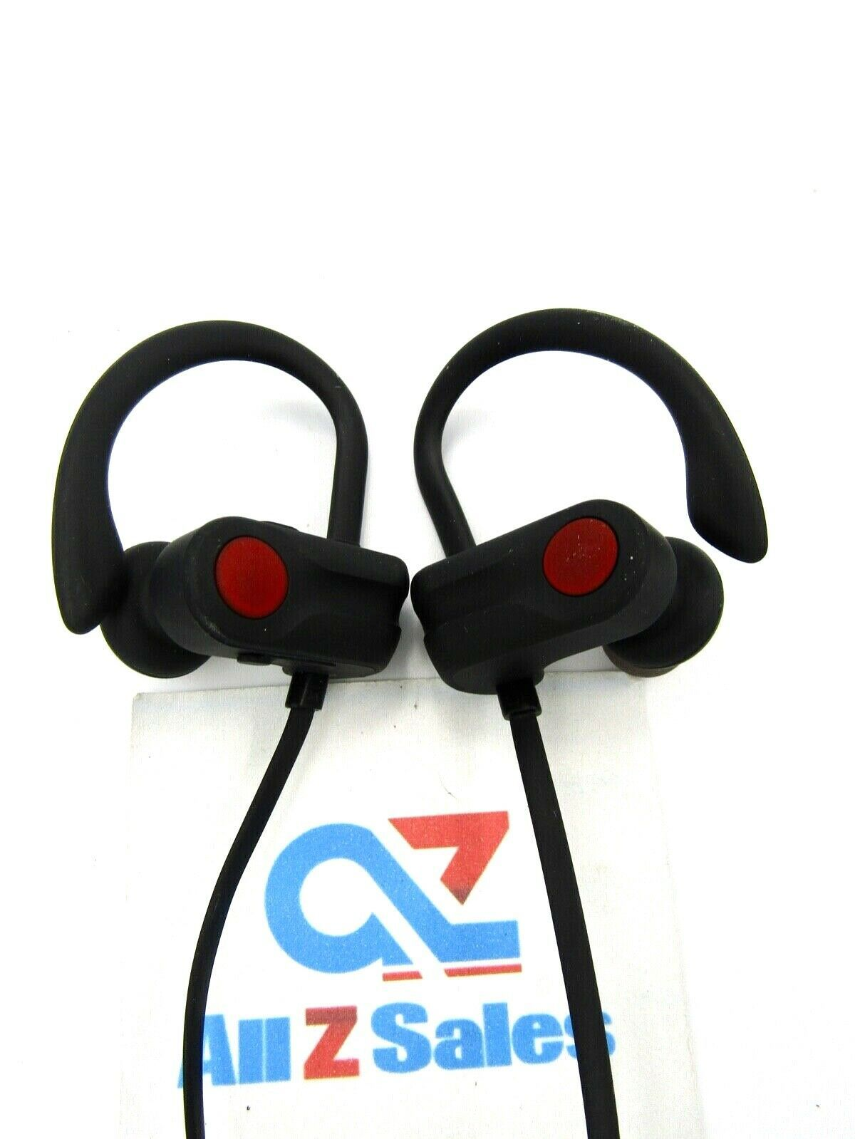Primary image for A2 Ear-hook Sport Headphones Bluetooth Wireless Stereo, Black/Red - Used