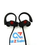 A2 Ear-hook Sport Headphones Bluetooth Wireless Stereo, Black/Red - Used - $12.82