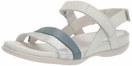 ECCO Women's Flash Ankle Strap Sandal Trooper/Shadow White EU 40 - $59.39