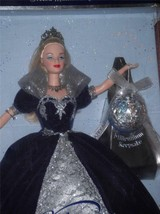 Millenium Princess Barbie w/ Happy New Year 2000 Keepsake Ornament by Hallmark - $24.99