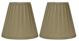 Urbanest Hardback Pleated Silk Empire Lamp Shade 5-inch by 9-inch by 8.5-inch, S - $29.69