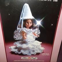 "Fairy Godmother Dress Crochet Pattern 9"" Doll Fibre Craft 1988 FCM160 - $9.99"