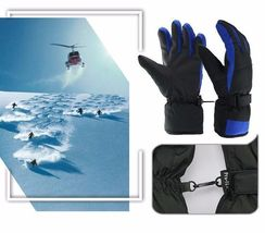Winter Warm Ski Glove -30 Degree Windproof Waterproof Unisex Security Protection image 6