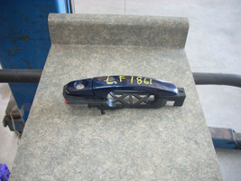2010 CHEVROLET HHR LEFT FRONT OUTER BLUE DOOR HANDLE
