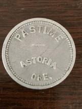 Astoria Oregon Pastime 30mm Aluminum Good for 10c Trade Token - $23.36