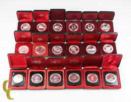 1972-1989 Canada Dollar Collection Lot (MS-PF, 18 coins) - $266.31