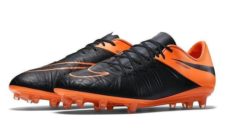 35d4cb360009 NIKE HYPERVENOM PHINISH II FG LEATHER SOCCER CLEATS SIZE 12 NEW (759980 008)