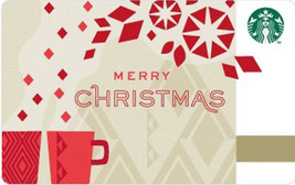 Starbucks 2013 Merry Christmas Collectible Gift Card New No Value - $1.99