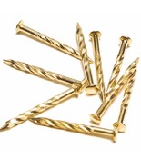 M-D Building Products 95653 1-1/4-Inch Screw Nails for Carpet Metal, Brass - $23.92