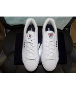Fila Reunion White/Navy/Red Athletic Shoe Size 10 Women's NEW - $88.00