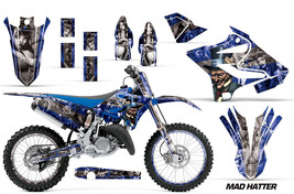 Decal Graphic Kit Wrap + Number Plates For Yamaha YZ125 YZ250 2015-2018 MAD S U - $249.95