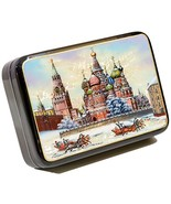 Russian Fedoskino Original Lacquer Box - Hand Painted in Russia - Collec... - $94.52