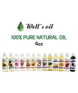 [WELL'S OIL] NATURAL OIL 14 DIFFERENT KINDS OF 100% PURE OILS 4oz - $8.90+