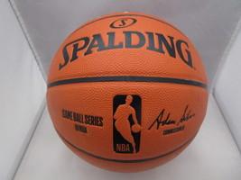 GIANNIS ANTETOKOUNMPO / AUTHOGRAPHED BUCKS LOGO FULL SIZE NBA BASKETBALL / JSA image 3