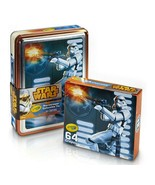 NEW SEALED 2015 Crayola Star Wars Storm Trooper Collectible Tin w/ 64 Cr... - $14.89