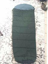 """SLUMBERJACK Sleeping Bag Rogue River Hollofil II Washable Dark Green 32"""" x 82""""  image 6"""