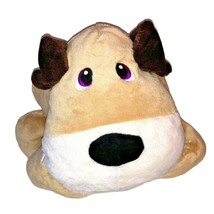 Stuffies Digger the Dog Plush with 6 secret pouches for storage brown 19... - $22.76