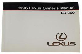 Vtg 1996 Lexus Es 300 Owners Manual User Guide V6 Sedan Luxury Car Automobile - $14.01
