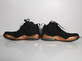 Nike Air Max Wavy Mens Basketball Shoes University Training Brown black Sz 10.5 image 6
