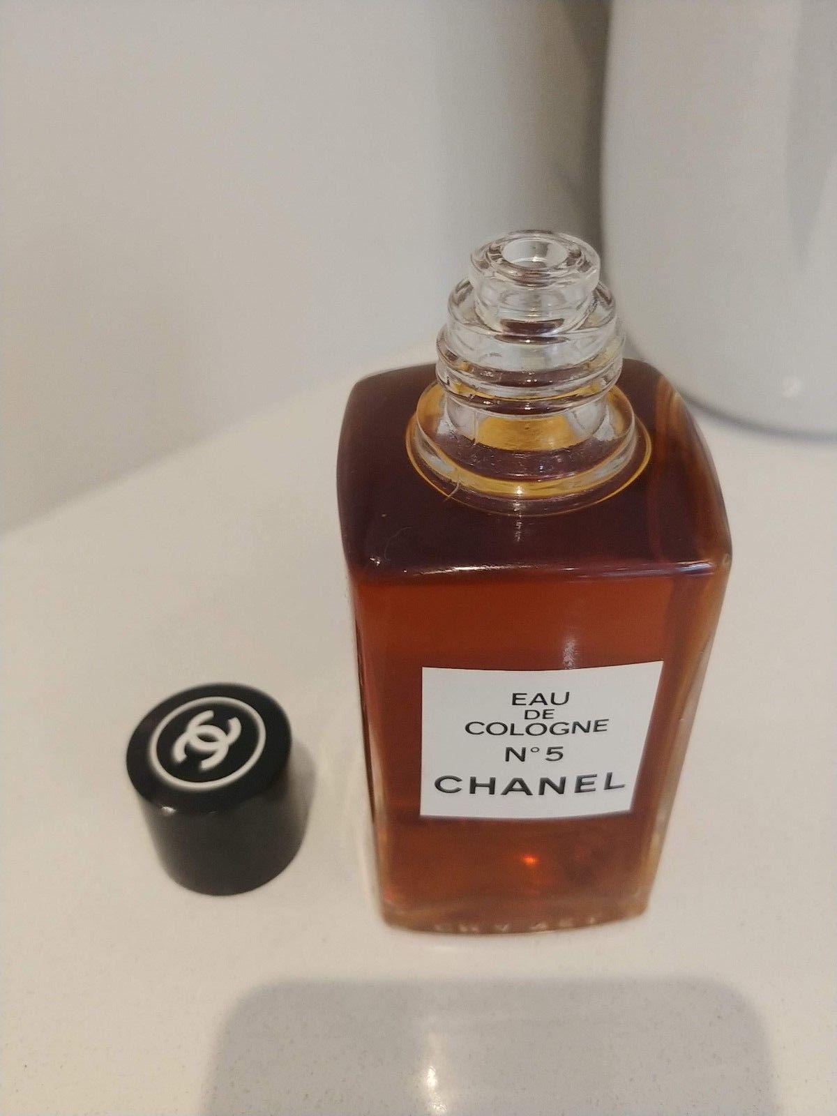Chanel N°5 Eau de Cologne 4oz (120cc) Vintage Splash *New* image 2
