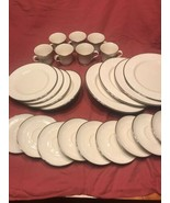 LOT OF 24 GORHAM BRIDAL BOUQUET PLATES AND CUPS EXCELLENT CONDITION - $141.55