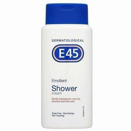 3 packs x E45 Emollient Shower Cream 200ml