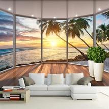 """3D Wallpaper """"Tropical Beach""""  - $35.00+"""