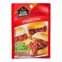 Club House Sloppy Joes Seasoning Mix 10 x 37g Canadian  - $59.99