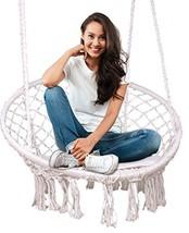 Feiren Outdoor hammock chair Indoor Livingroom hanging Macrame Chairs sw... - $60.21