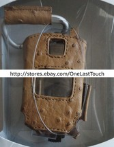 MOBILE STYLE Case for NOKIA 6102 Tan Faux-Ostrich CINGULAR Clip+Holster ... - $6.52