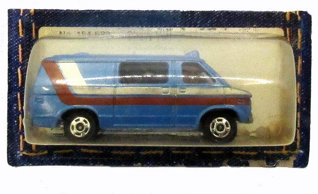 1977 Tomica Pocket Cars F22 Chevrolet Chevy Van - $7.95