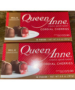 Queen Anne ~ Milk Chocolate Covered Cherries Cordials 20-Count ~ 01/2022 - $16.82