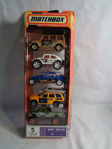 Matchbox 2005 Ready For Action MBX Metal 5-Pack Buggies & Trucks # J4671 - $19.75