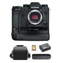 Fuji X-H1 +VPB-XH1 Grip +64GB Sd Card +Bag +NP-W126S Battery +Memory Card Reader - $1,443.33