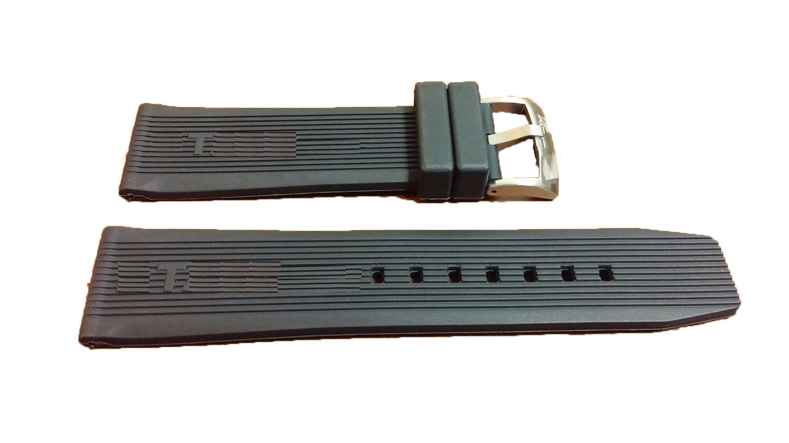 7986af487dc Men s Black Rubber Strap 24mm For Tag Heuer and 50 similar items. 1 22