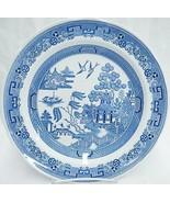 """Spode Blue Room Collection Willow 10.5"""" Dinner Plate Made in England Exc... - $19.79"""