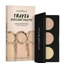 Smashbox Travel Spotlight Highlighter Trio Palette Pearl Brand New In Box - $7.87