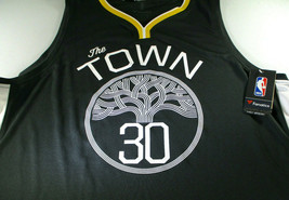 "STEPHEN CURRY / AUTOGRAPHED G.S. WARRIORS ""THE TOWN"" BLACK NBA JERSEY / BECKETT image 2"