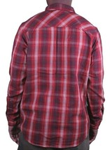 KR3W Mens Red Soil Escape Long Sleeve Woven Shirt K15325 Large NWT image 2