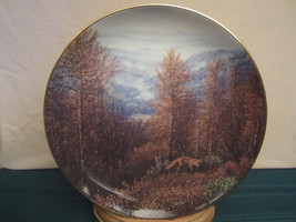 FOX collector plate GREAT SMOKY MOUNTAINS Harry Johnson AMERICA THE BEAU... - $19.99