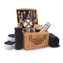 Picnic Time Canterbury English Style Picnic Basket with Deluxe Service f... - €159,55 EUR