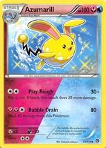 2016 Pokemon Stage 1 Azumarill HP100 77/114 - $0.99