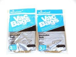 5 Electrolux Tank Vac Bags Model 3020 4 ply Vacuum Cleaner Bags By HomeC... - $7.59