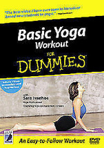 Basic Yoga Workout For Dummies [DVD] - DVD  Free Post - $6.83
