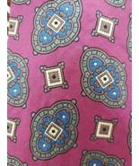 "Andhurst Brand ~ 100% Silk ~ Hand Sewn ~ 58"" Long ~ Multicolored Necktie - $15.84"