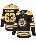 Brad Marchand Boston Bruins adidas NHL Authentic Jersey Adult Medium siz... - $197.99