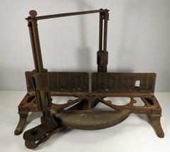Antique Stanley Miter Box Patent 1909 & Marked Stanley No Model No. Big ... - $59.35