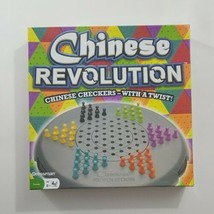 Chinese Revolution Game Chinese Checkers With A Twist #3240 Pressman  - $46.75