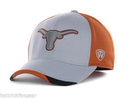 Texas Longhorns - Top Of The World Ncaa Grizzly Stretch Fit CAP/HAT - Osfm - $18.99